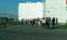 ФОТО: Из торгового центра Ülemiste эвакуировали людей
