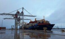 Порт Силламяэ начал перевалку контейнеров на регулярной основе