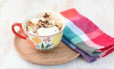 Морковный кекс в чашке: моментальная выпечка в микроволновке