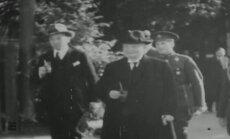 PÕNEVAD VANAD FILMIKAADRID: Päts 1935. aastal Poolas puhkamas