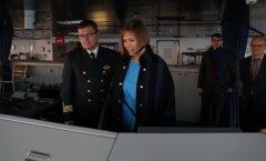 ФОТО: Керсти Кальюлайд отправилась с ознакомительным визитом в Финляндию