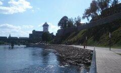 Narva, Narva promenaadi ehitus