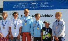 Kaarel Paal ja Emil Marvin Mikk, võitjad, RS Feva