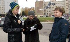 В Ласнамяэ провели опрос молодежи на тему голосования на муниципальных выборах