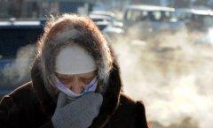 Minskis on väga külm