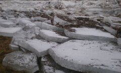 Jääkuhilad Tori põrgu piirkonnas