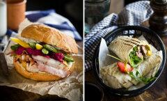 Uulitsa burgerirestorani kokad jagavad võrratuid retsepte: pardifilee-<em>wrap</em> ja kalkunifileega burger