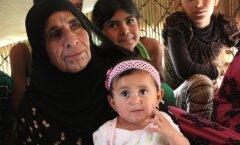 Süüria sõjapõgenikud Liibanonis Bekaa orus