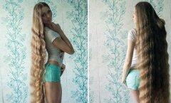 GALERII: Internetis lööb laineid maailma pikimate juustega naine