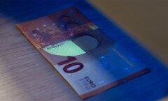 Rait Roosvee.Uus 10.eurone rahatäht.