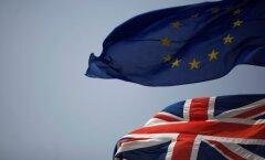 Suurbritannia ja Euroopa Liidu lipud