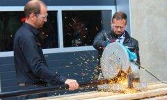 Saue meeste firma Metal Express sai 10aastaseks ja avas uue hoone