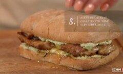 Videoretsept: lihtne ja toitev lõunasöök — einevõileib broileriliha, keedumuna ja avokaadopüreega