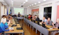 ФОТО: Состоялось внеочередное заседание городского собрания Кохтла-Ярве