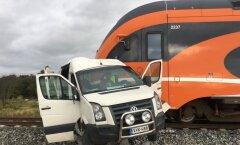 Rongiõnnetus Järvamaal