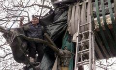 DELFI miniDOK: 76aastane lasnamäelane, kes magab puu otsas ja armastab Puškinit