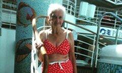 Sa pole kunagi liiga vana oma ilu näitamiseks: vaata, kui vapustav see 90aastane naine bikiinides välja näeb