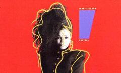 """Janet Jackson """"Control"""" albumi kaas"""