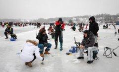 VIDEO JA FOTOD: Kalafest 2015 on Viljandi järvejääle toonud rekordarvu võistlejaid