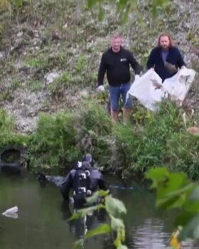 FOTOD ja VIDEO | Koristuspäeval leiti Lasnamäe Pae pargi tiigist surnukeha