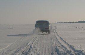 Ледовую трассу Хаапсалу-Ноароотси могут открыть на следующей неделе