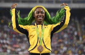 Jamaica jooksukuulsus teatas, et ootab last