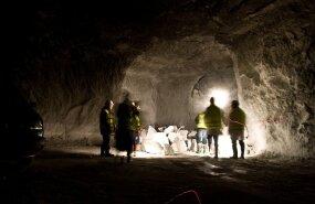 Inimesed kadusid kaevandusešahti