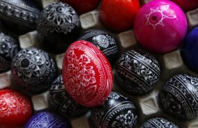 FOTOD: Põnevaid ideid munade kaunistamiseks Ukrainast!