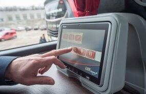 Lux Express Lounge'i busside tutvustus