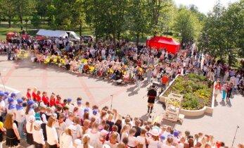 ФОТО: Праздник хоров Ида-Вирумаа в этом году прошел в Кохтла-Ярве