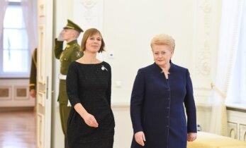 Президент Кальюлайд в Литве: тесное сотрудничество стран Балтии обеспечит силу и безопасность региона
