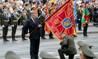 ФОТО: В Киеве прошел военный парад по случаю 25-летия независимости Украины