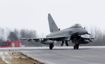 На предстоящей неделе над Эстонией будут тренироваться самолеты союзников