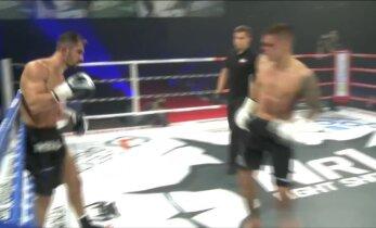 DELFI VIDEO: Moisar võttis Number One Fight Show lisaraundis võidu, vastane polnud otsusega rahul