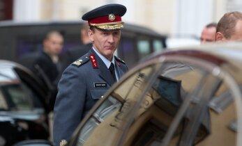 President andis Valeri Saarele kindralmajori auastme