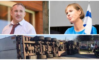 ГЛАВНОЕ ЗА ДЕНЬ: Визит Кальюлайд в Финляндию, авария в Таллинне и интервью с Фоменко