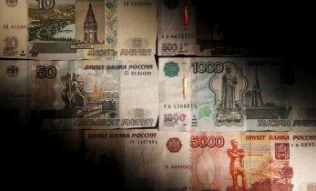 Nafta hinnalangus tõmbas rubla kursi kaasa