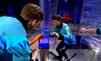 VAATA SAADET TÄISMAHUS: Rakett69 kuuenda saate teemaks oli keemia, lahkus üks sinistest