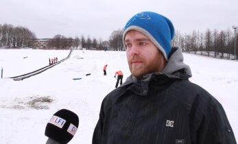 VIDEO: Snowtubingu asjatundja: rada tuleks pidevalt katsetada ja ilmaoludega kohandada
