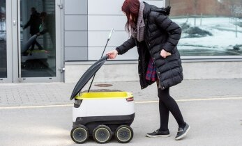 Eestis arendatud automaatrobotid alustavad toidu ja pakkide kojukannet Euroopas