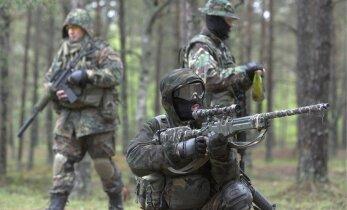 Полиция безопасности Латвии разогнала участников игры Airsoft в российской военной форме