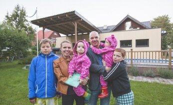 Репортаж: не все многодетные семьи в Эстонии еле сводят концы с концами