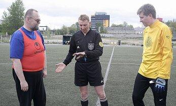 Uno Tutk hindab kolmapäeval Meistrite liiga mängul jalgpallikohtunike tööd