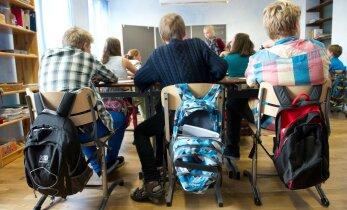 GRAAFIK: Kui palju on Eestis erakoole?