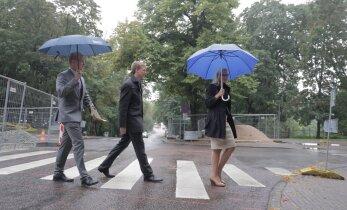 DELFI FOTOD: Siim Kallas, Allar Jõks ja Mailis Reps esitati järgmise vooru presidendikandidaatideks