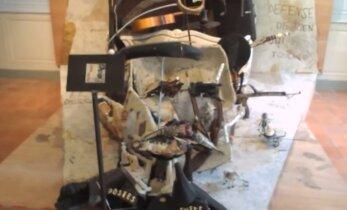 VIDEO: Hunnikust prügist on saanud kunstiteos