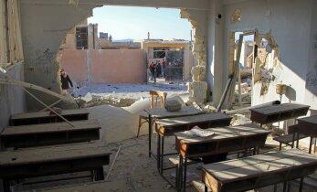 ООН сообщила о гибели 22 детей при ударах по сирийской школе