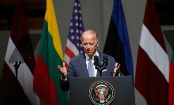 ФОТО DELFI: Байден в речи для народов Прибалтики — США не подведут своих союзников