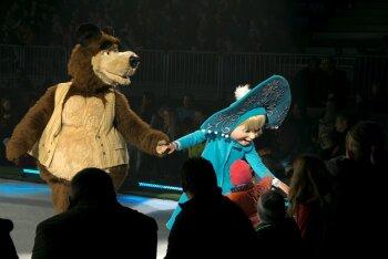 """Suurejooneline Maša & Karu jääshow """"Masha & The Bear on Ice"""" tuleb detsembris Eestisse!"""