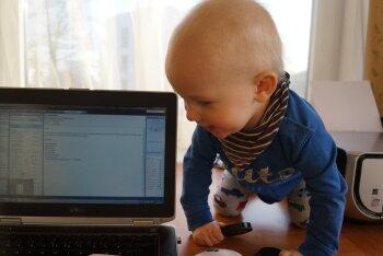 Isa blogi: kus on nähtud kontorit, kus trussikud ripuvad arvuti monitorist meetri kaugusel?